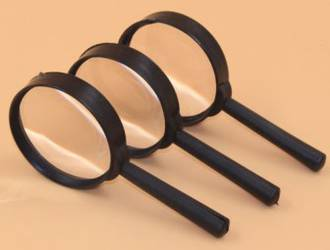 Magnifier 4X    Economy with  60 mm dia. Lens