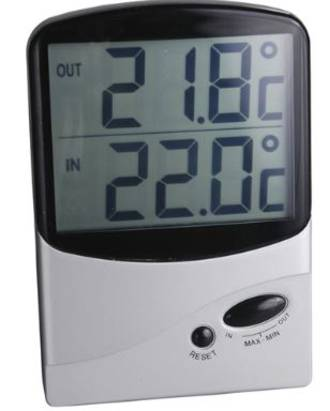 Thermometer Jumbo Display - Digital