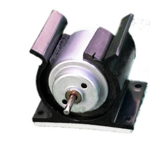 Motor with Mount (DC 1.5v to 6v Motor)