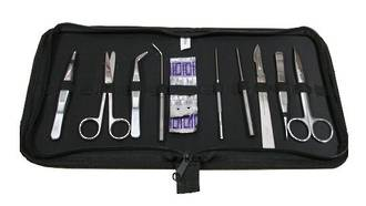 Dissecting Kit in zip up pouch